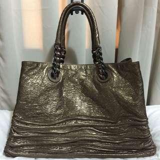 Authentic Bottega Veneta Shopping Tote Bag
