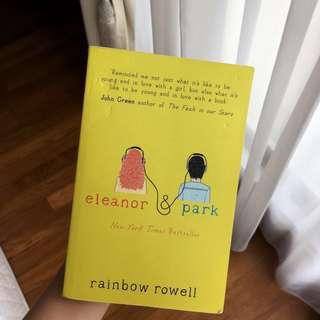 Eleanor & Park book By Rainbow Rowell