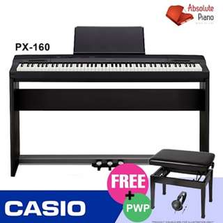 CASIO PX-160 Privia Digital Piano | Portable Keyboard | Electronic Keyboard | Electronic Piano |