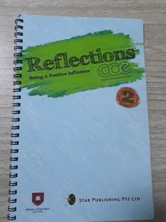 sec 2 cce reflection book