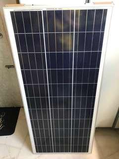 100w panel . Solar
