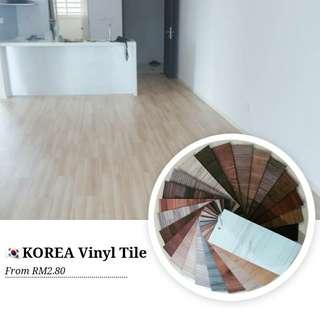 Korea vinyl tile