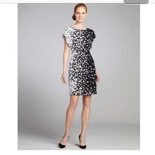 """White House Black Market"" Printed Jersey Dress Size 4"