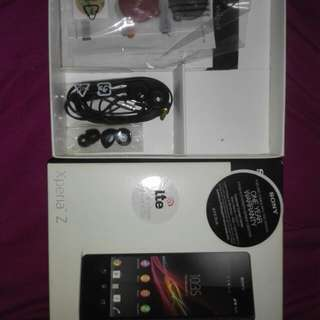 Sony Xperia original package headset