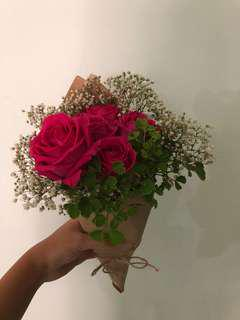 CHEAP BEAUTIFUL rose bouquet