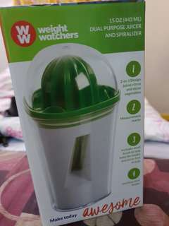 Weight Watchers: Juicer & Spiralizer