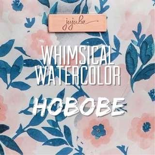Jujube Whimsical Watercolor Hobobe
