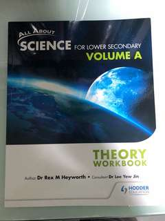lower secondary theory workbook A