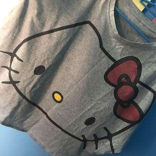 👚Korean Bat Wing TOP - Hello Kitty