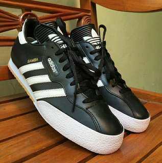 Forsale Adidas Samba Leather