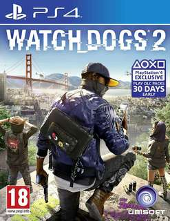 PS4 Watchdogs 2 and AC Unity