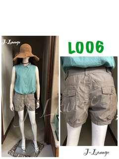 🚚 L006全新TANGTEN夏日純棉短褲春吶休閒海邊比基尼渡假熱帶 shorts J-Lounge