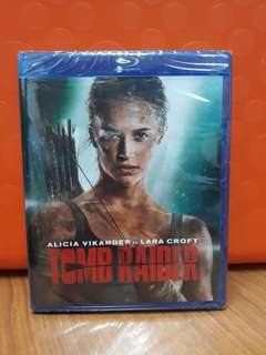 USA Blu Ray - Tomb Raider (ATMOS)