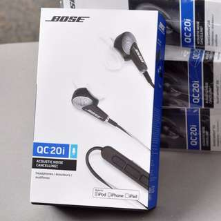 Bose QuietComfort QC20i In-Ear Noise Cancelling Headphones Apple