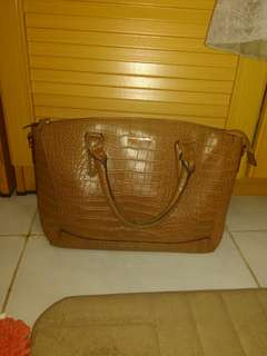 Mango Croco Bag