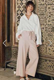 🚚 BNWT Drea X TCL Thebes Pants in Pink (Size L)