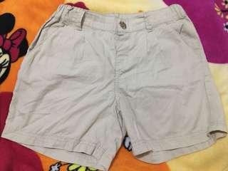 H&M Boys Khaki Short Size 7-8Y