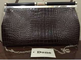Dune Leather Clutch