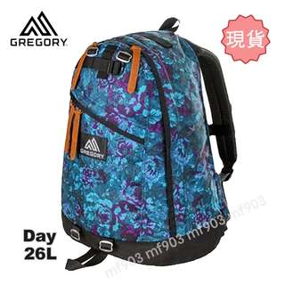最平行貨 Gregory Day Pack 26L Blue Tapestry Backpack 藍花書包 行山背囊  旅行袋