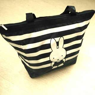 Miffy 輕巧物料可摺叠保温冷暖袋 Isothermic bag / Tote bag