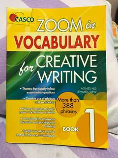 🚚 BN Casco Zoom in Vocabulary for Creative Writing Book 1 Primary 1