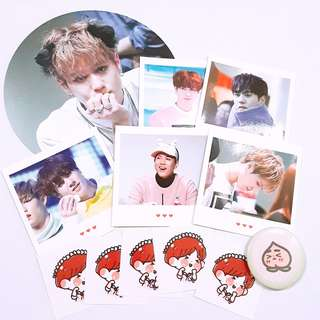 GOT7 Yugyeom blacklight fansite goods