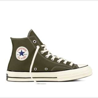 🚚 Converse All ster 1970s墨綠高