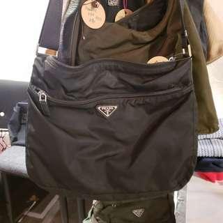 市集限定 Prada Bag 斜孭袋兩用袋背包 單肩包 返工袋