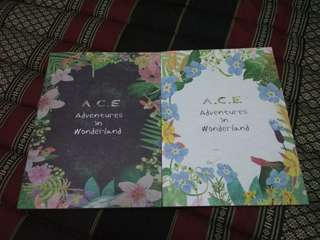 [READY STOCK] A.C.E - ADVENTURES IN WONDERLAND