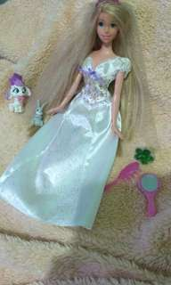 Barbie Rapunzel ori mattel ,ake All