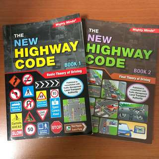 Driving Books - BTT & FTT