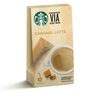 🆕Starbucks® VIA™ Ready Brew - Caramel Latte
