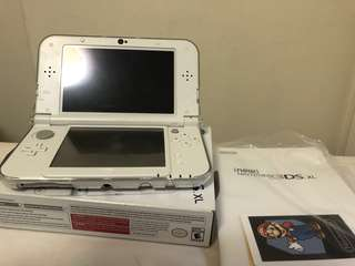 NINTENDO 3DS XL PEARL WHITE GOOD CONDITION