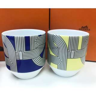【Hermes】Rallye 24 Tumbler Cups set