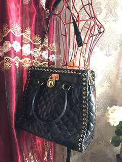 Michael Kors black quilted bag