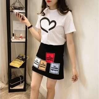 Pre-order! Korean Top+Skirt