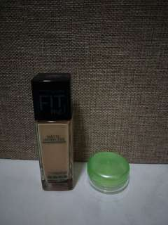 Maybelline Fit Me Foundation Share in a Jar