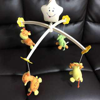 Soft Toy Musical Winder for cots / baby bed
