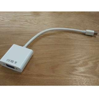 MiniDP (Mini DisplayPort) to VGA converter / adapter