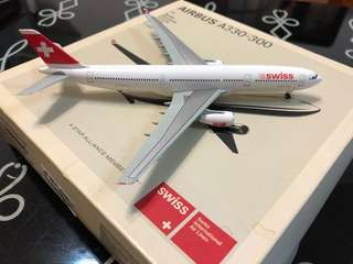 超低價放售DW dragon wing 威龍 1:400 Swiss Airlines 瑞士航空 A330-300