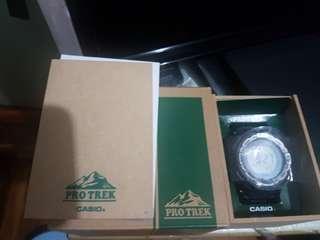 99%新日本版Casio 太陽能登山錶好新淨