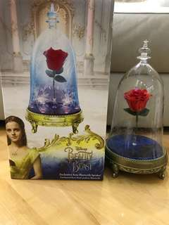 Beauty and the Beast enchanted rose bluetooth speaker