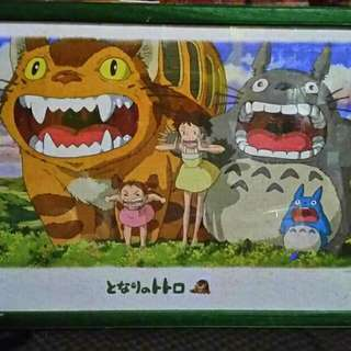 Totoro Puzzle Frame