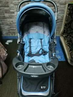 Baby Stroller and bouncer