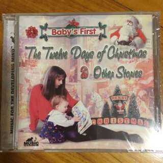 Baby's First : The Twelve Days Of Christmas & Other Stories ( CD )