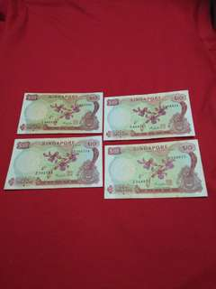 Sg old notes  4pc offer $118