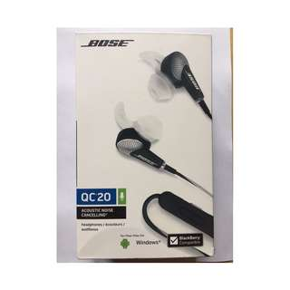 BOSE QuietComfort® 20 Acoustic Noise Cancelling® headphones Windows Android