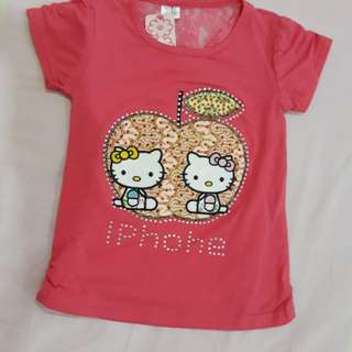 Hello Kitty T-Shirt (Red)