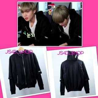 Jaket hoodie kcalback jihoon