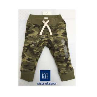 Sisa Ekspor - brand Baby GAP - jogger army
